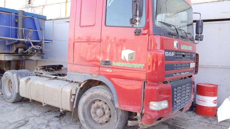 Седельный тягач DAF аренда Симферополь